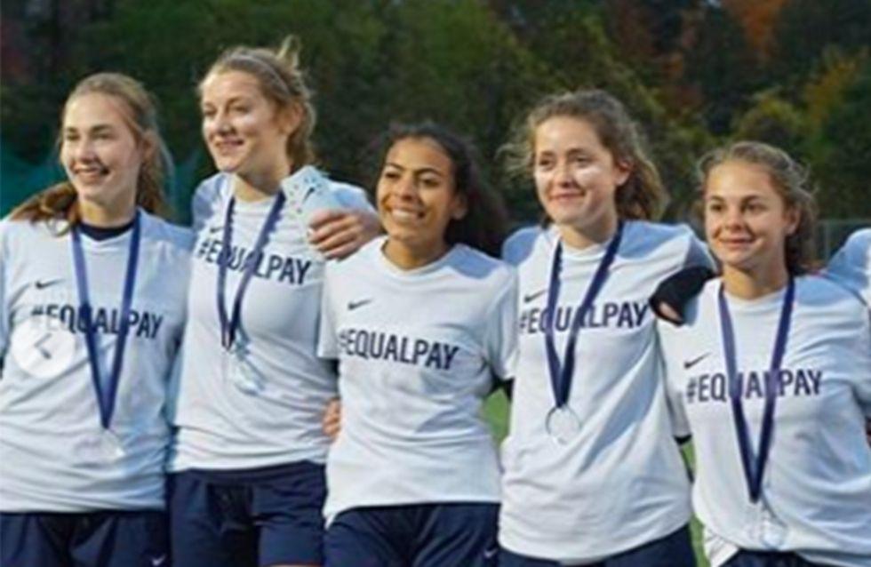 Des jeunes joueuses de foot sanctionnées après avoir demandé l'égalité salariale