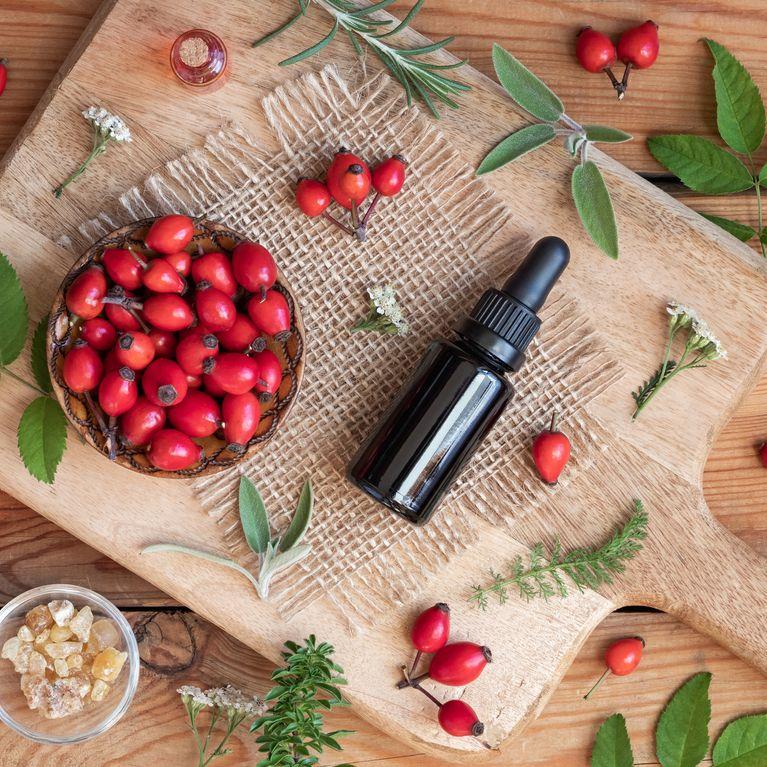 beneficios del aceite rosa mosqueta en la piel