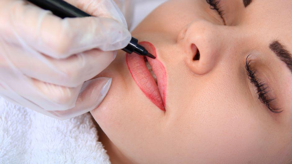 ¿Labios tatuados? Te contamos todo sobre la micropigmentación