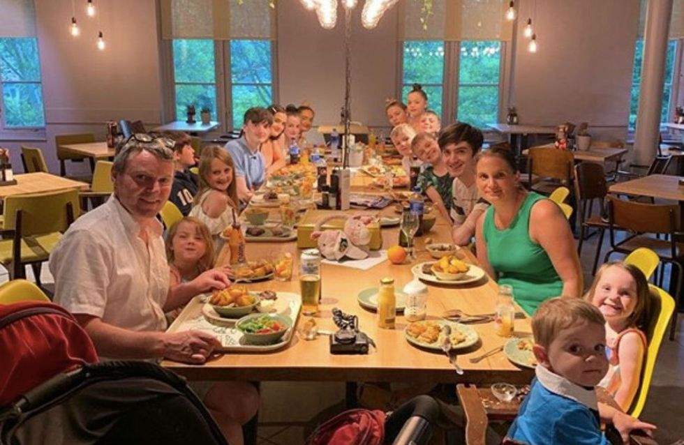 La plus grande famille d'Angleterre va accueillir son 22e enfant
