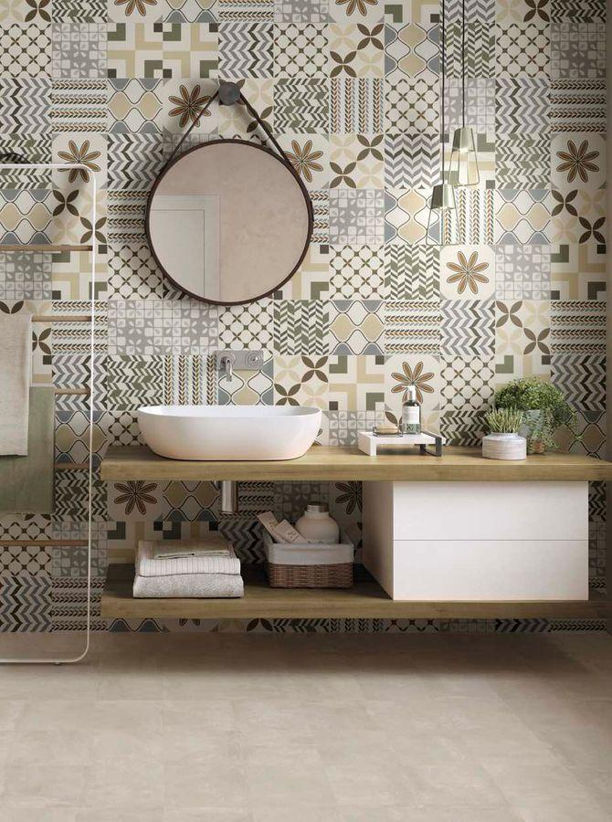 Carrelage salle de bain HIPPIE