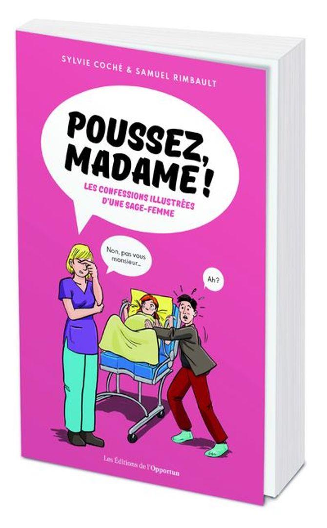 """Le livre """"Poussez, Madame !"""""""