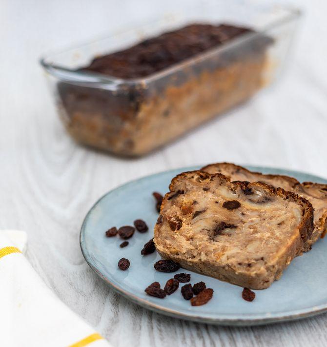 Un petit-déj gourmand, et qui utilise les restes de viennoiseries pour un délicieux pudding? C'est la version des hôtels Ibis Styles !
