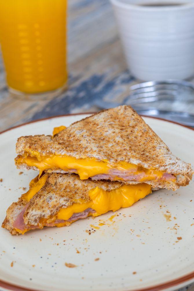 La bonne idée pour un petit-déj salé : des toasts façon croque-monsieur