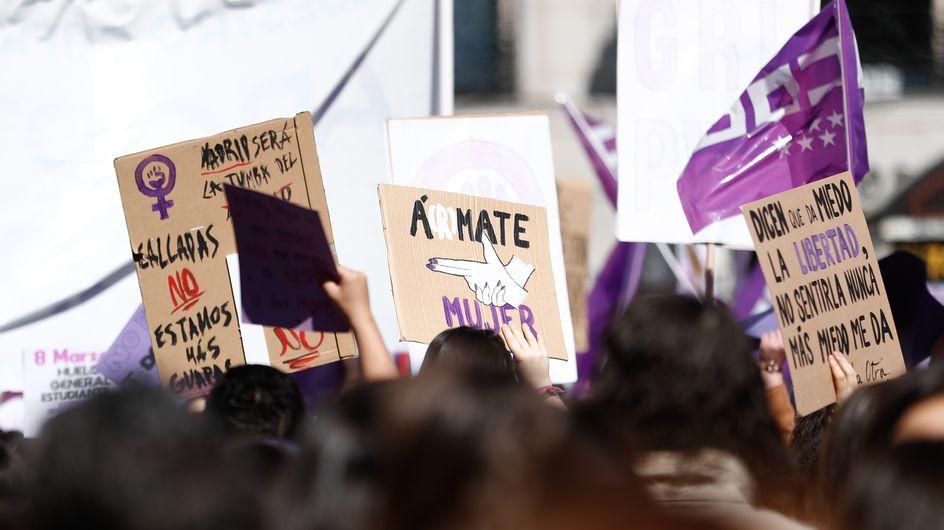 No es abuso, es violación: manifestaciones feministas tras la sentencia de la violación en Manresa