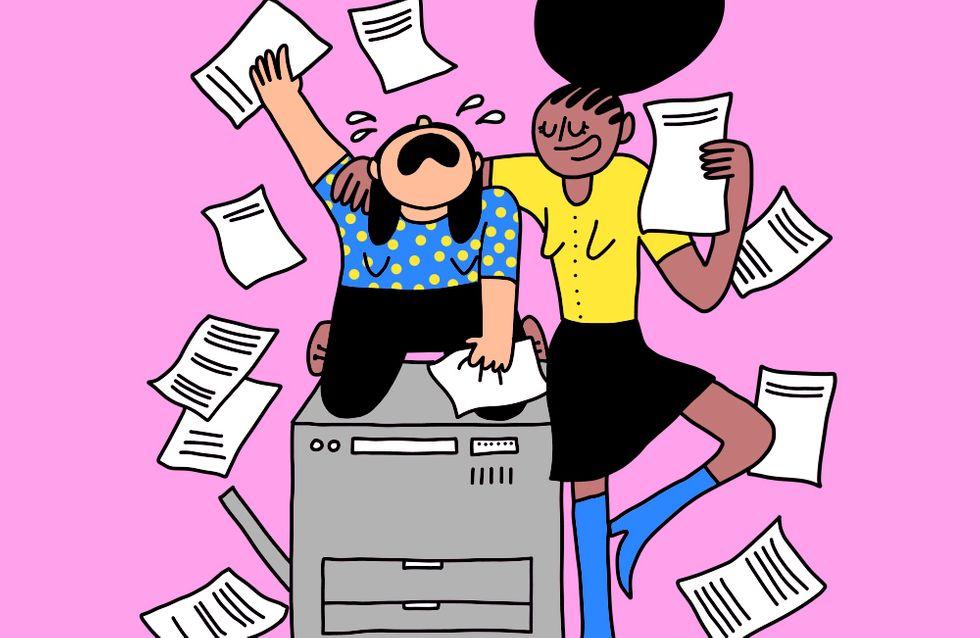 La dure vie d'un photocopieur