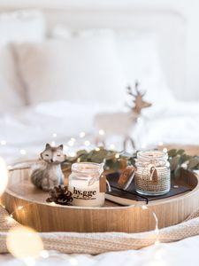 Un centre de table de Noël