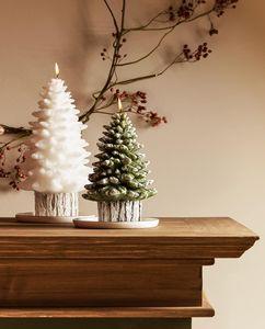 De jolies bougies de Noël