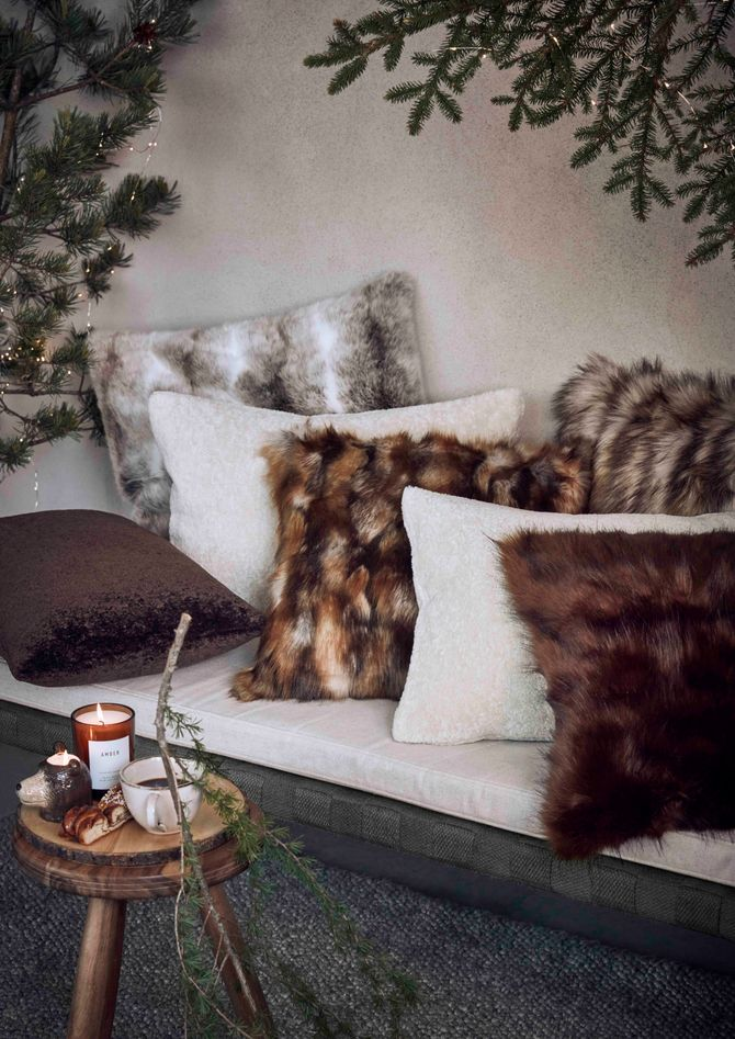 Fausse fourrure cocooning