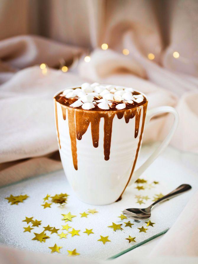 Recette de chocolat aux chamallows