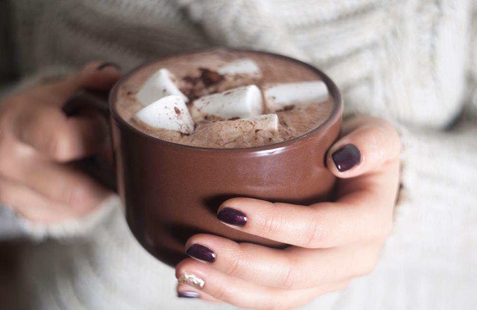 12 chocolats chauds maison à se damner !