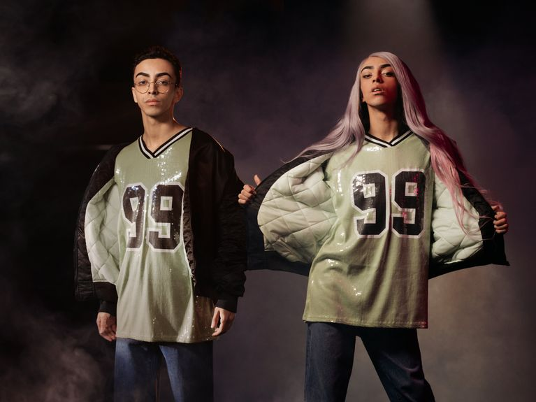 Two Spirits, la collection no gender signée Bilal Hassani x Jennyfer
