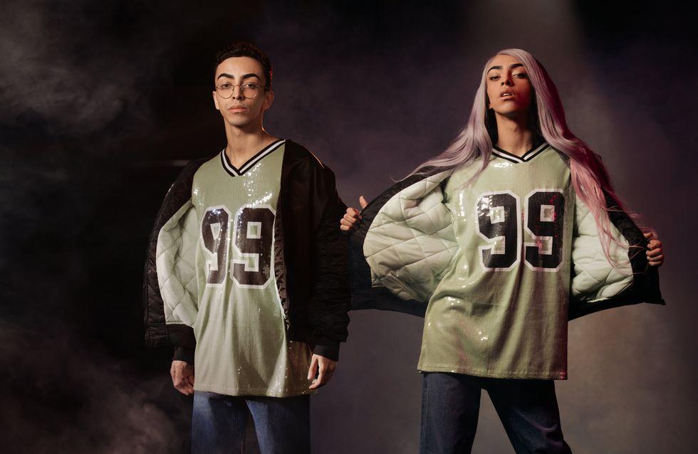 Two Spirits, la nouvelle collection no gender signée DCM Jennyfer x Bilal Hassani