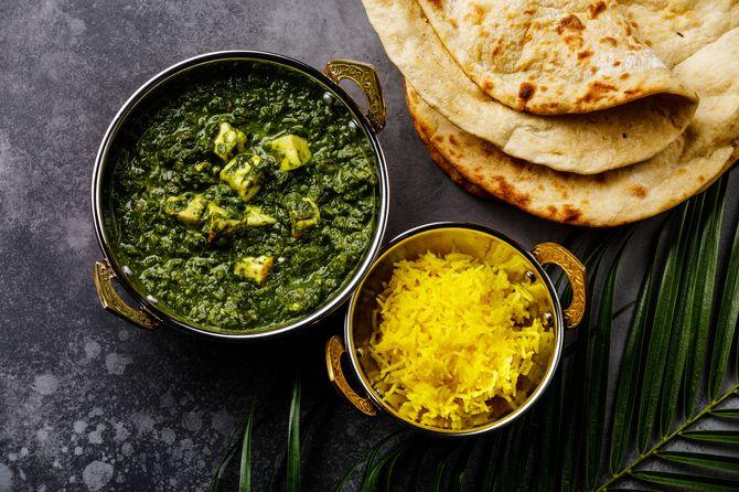 Pour une alimentation végétarienne équilibrée, pensez aux plats d'origine indienne !
