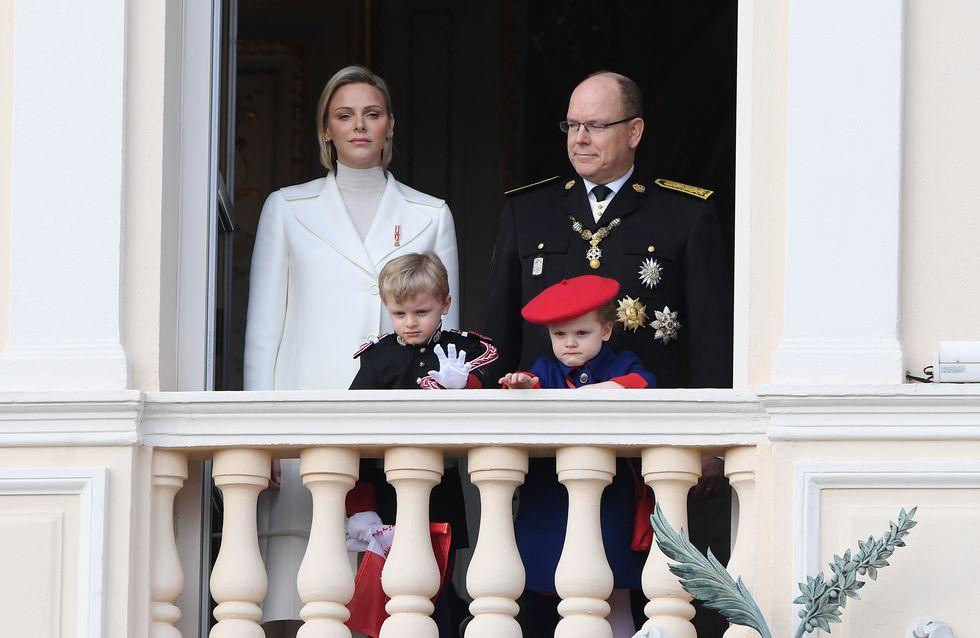 Jacques et Gabriella, adorables lors de la Fête nationale monégasque