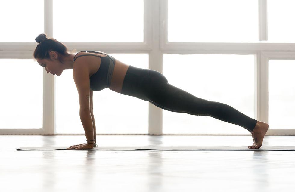 10 planches faciles, pour des abdos fermes en 5 min par jour