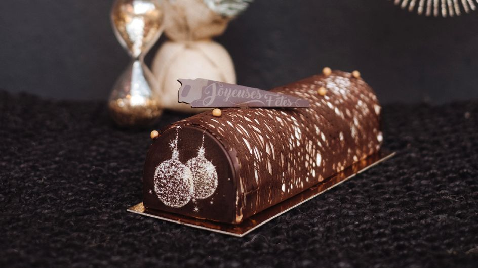 La bûche au chocolat qui va tout déchirer à Noël !