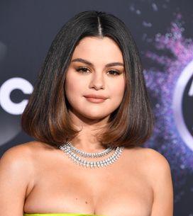 En robe verte satinée, Selena Gomez fait un come-back remarqué