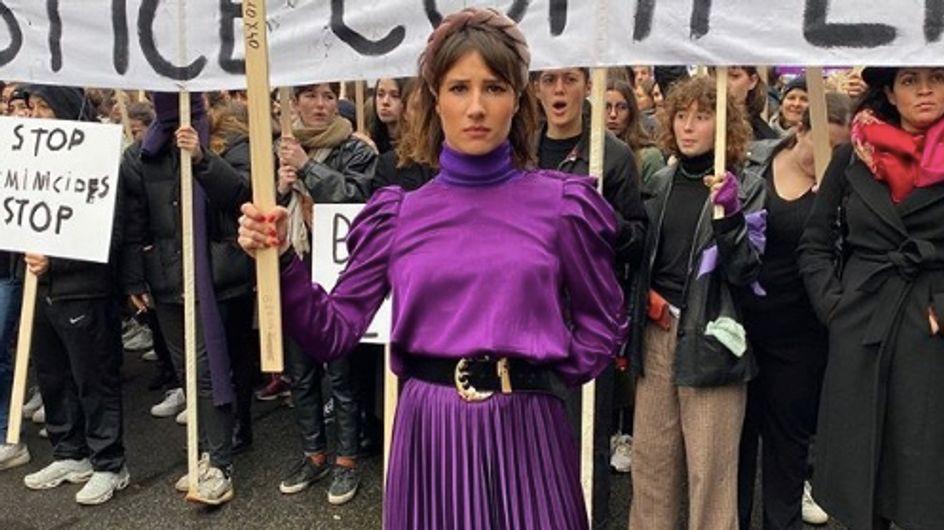 Marie s'infiltre profite de la marche contre les violences pour faire le buzz et indigne la Toile