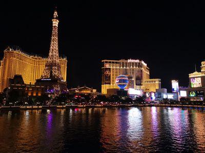 Le Paris vu depuis le Bellagio
