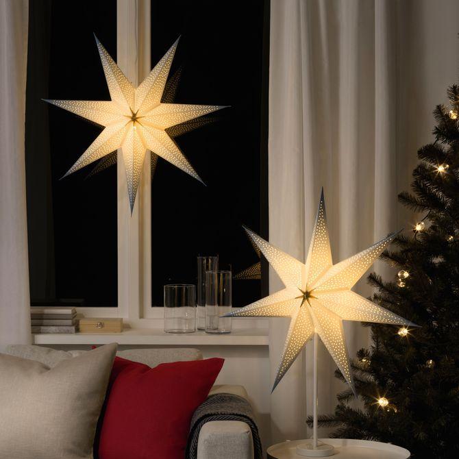 Pantalla para lámpara (5 euros) de la colección VINTERFEST de IKEA