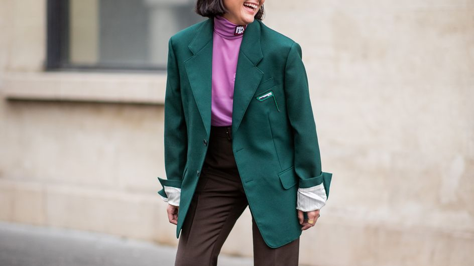 Dite addio al nero: i colori dell'inverno 2020 sono il verde ed  il viola!