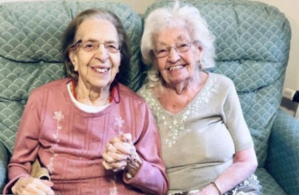 Amies depuis 80 ans, elles choisissent la même maison de soins pour se voir toute la journée