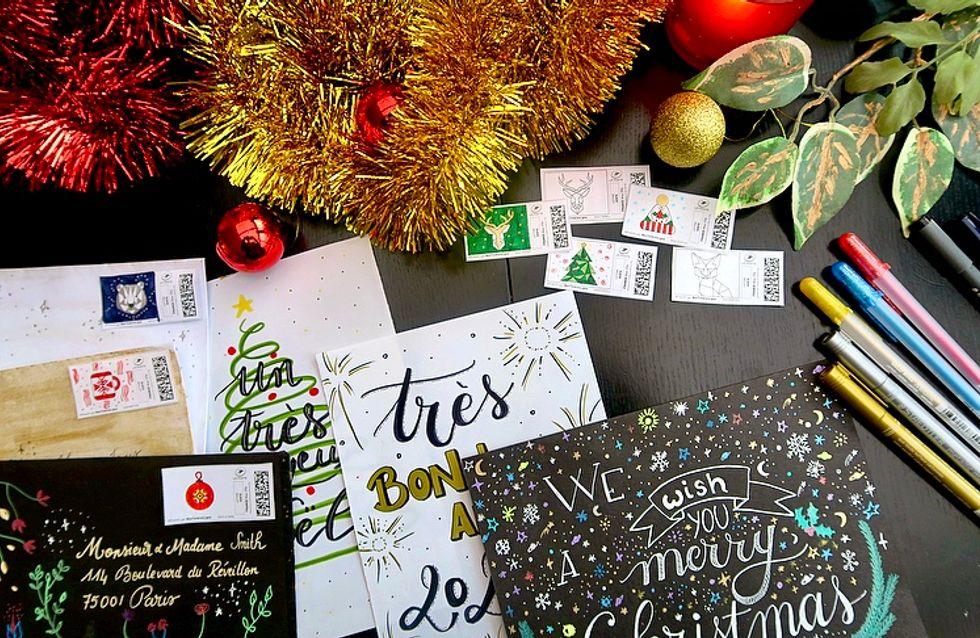 DIY : des cartes de voeux personnalisées pour les fêtes