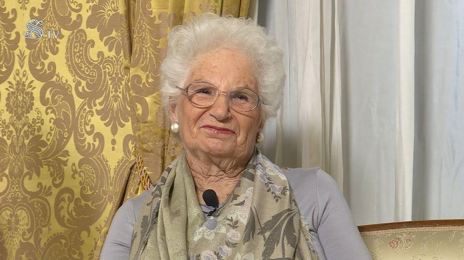 Les Italiens dans la rue pour soutenir Liliana Segre, rescapée d'Auschwitz et menacée