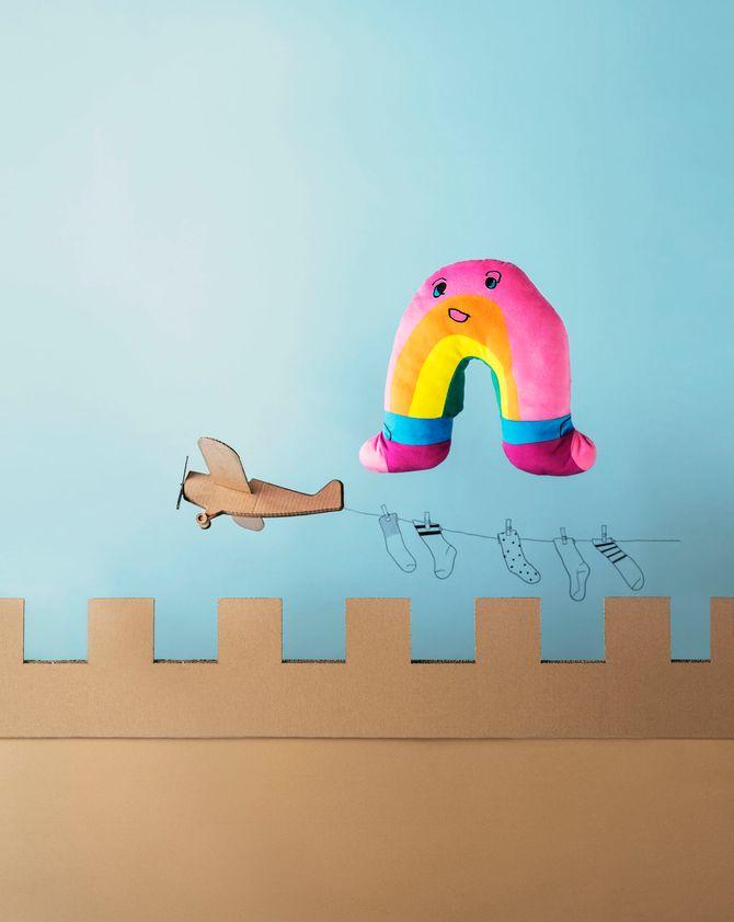 Arcoíris, diseñado por Darren Wing Hei