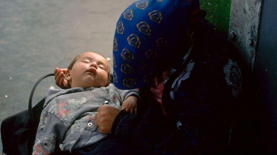 """Nouveau-nés et déjà sans abris, """"nous ne pouvons plus fermer les yeux"""""""