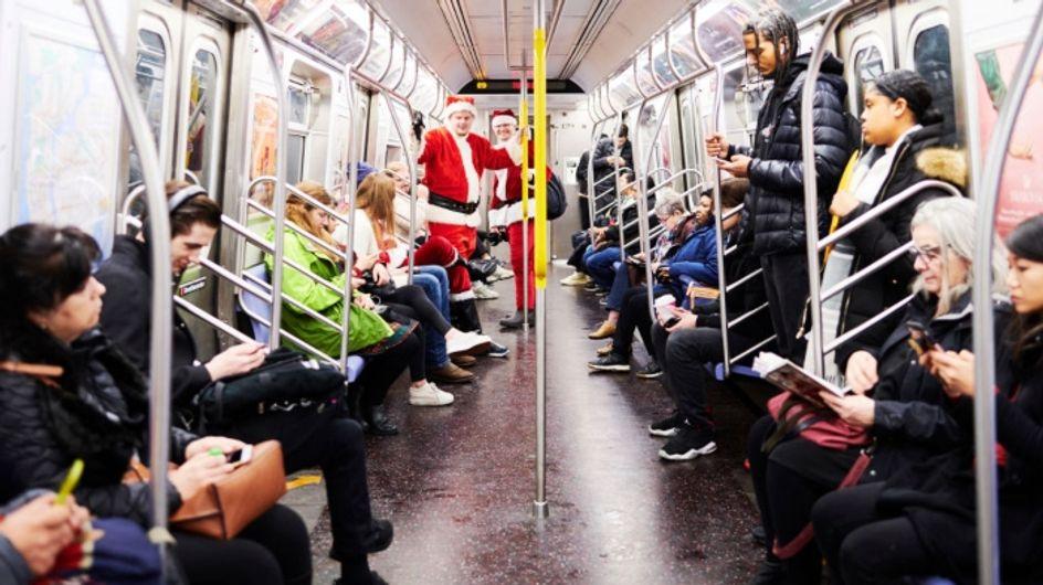 """Les New-Yorkais chantent """"All I Want for Christmas is you"""" dans le métro et nous réchauffent le cœur"""