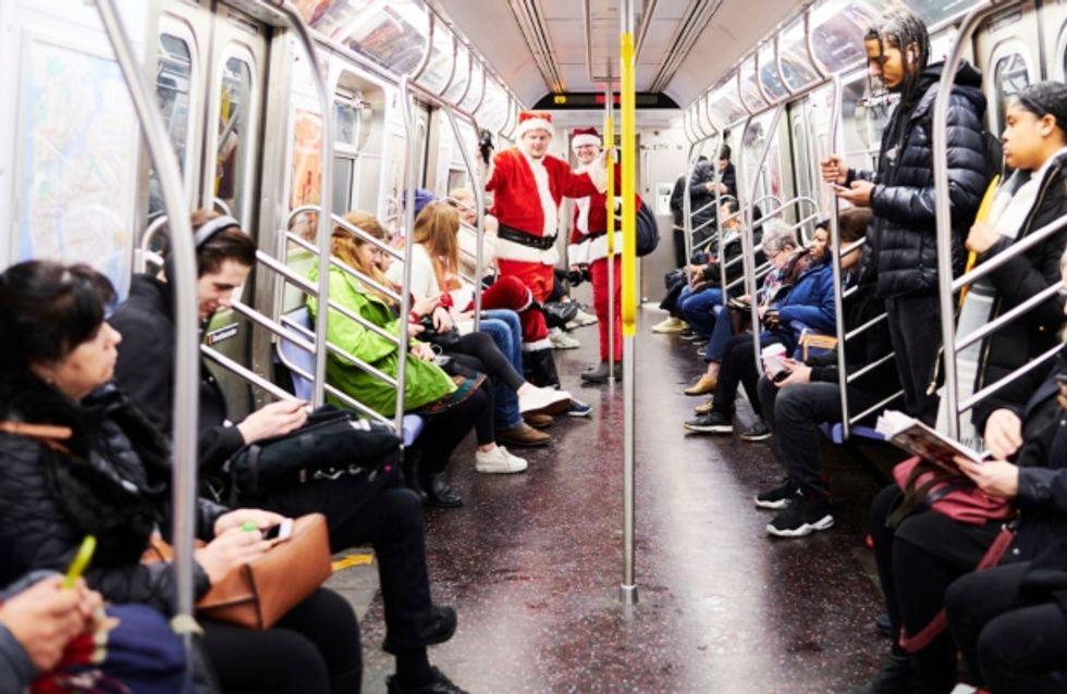 Les New-Yorkais chantent All I Want for Christmas is you dans le métro et nous réchauffent le cœur