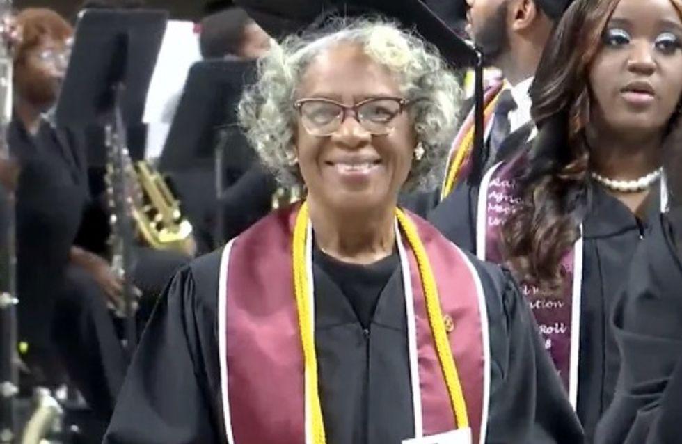 A 80 ans, elle devient la diplômée la plus âgée de l'université d'Alabama