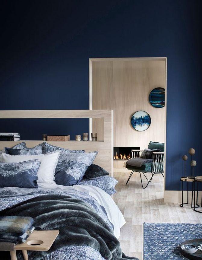Une chambre classic blue