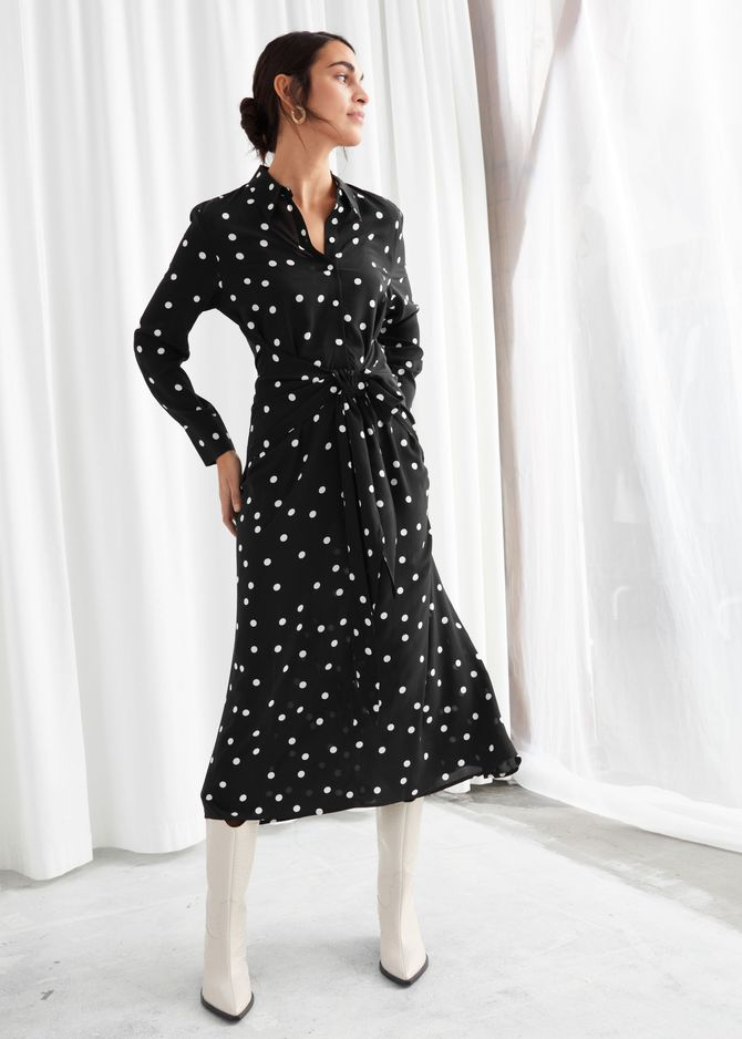 Robe longue à pois, & Other Stories, 99€