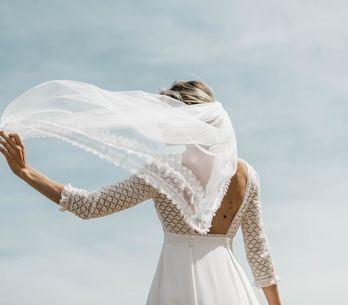 Long, court, bas, haut... 80 manières de porter son voile de mariée