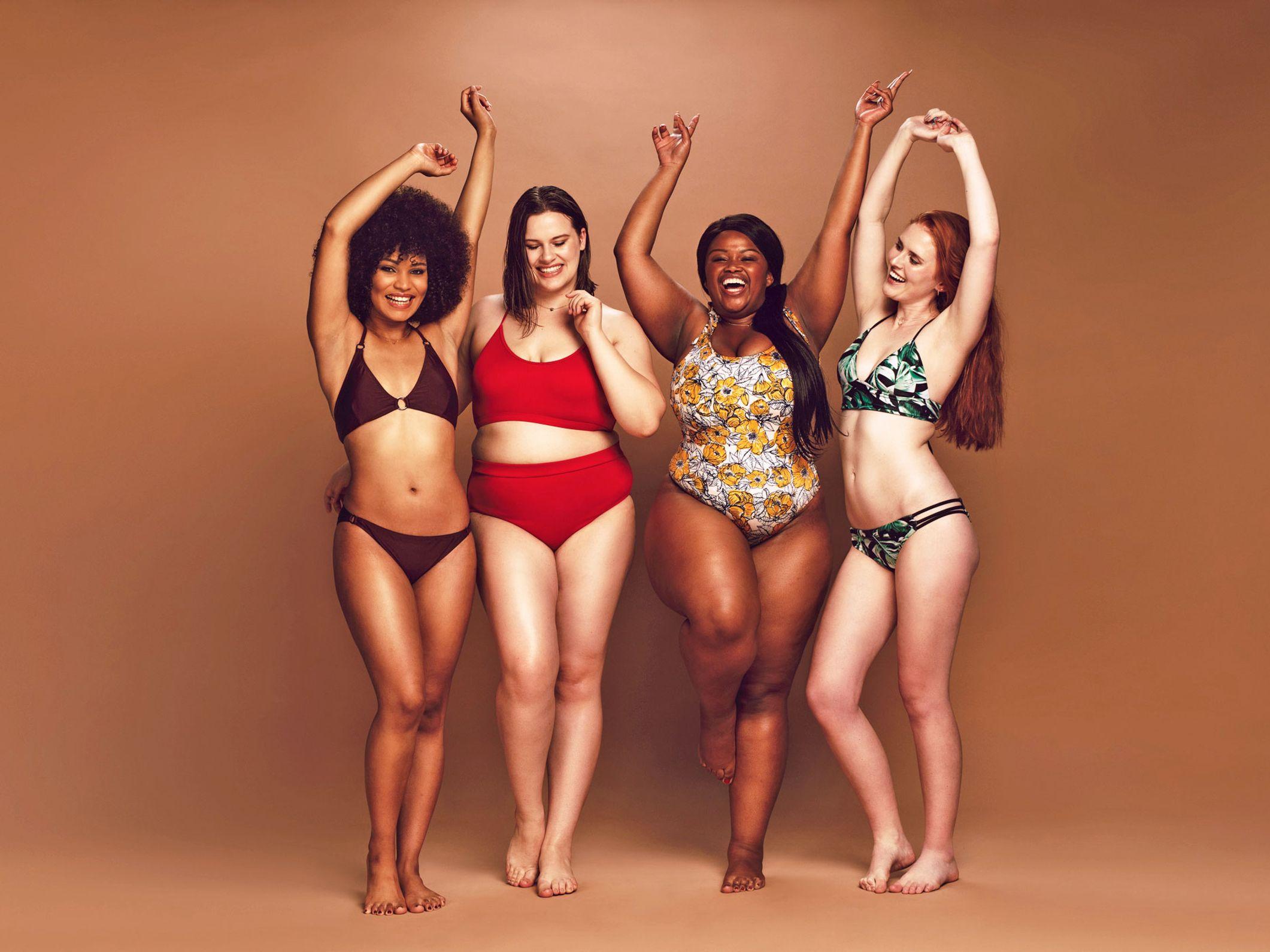Kleine bikini oberweite für Bikinis mit