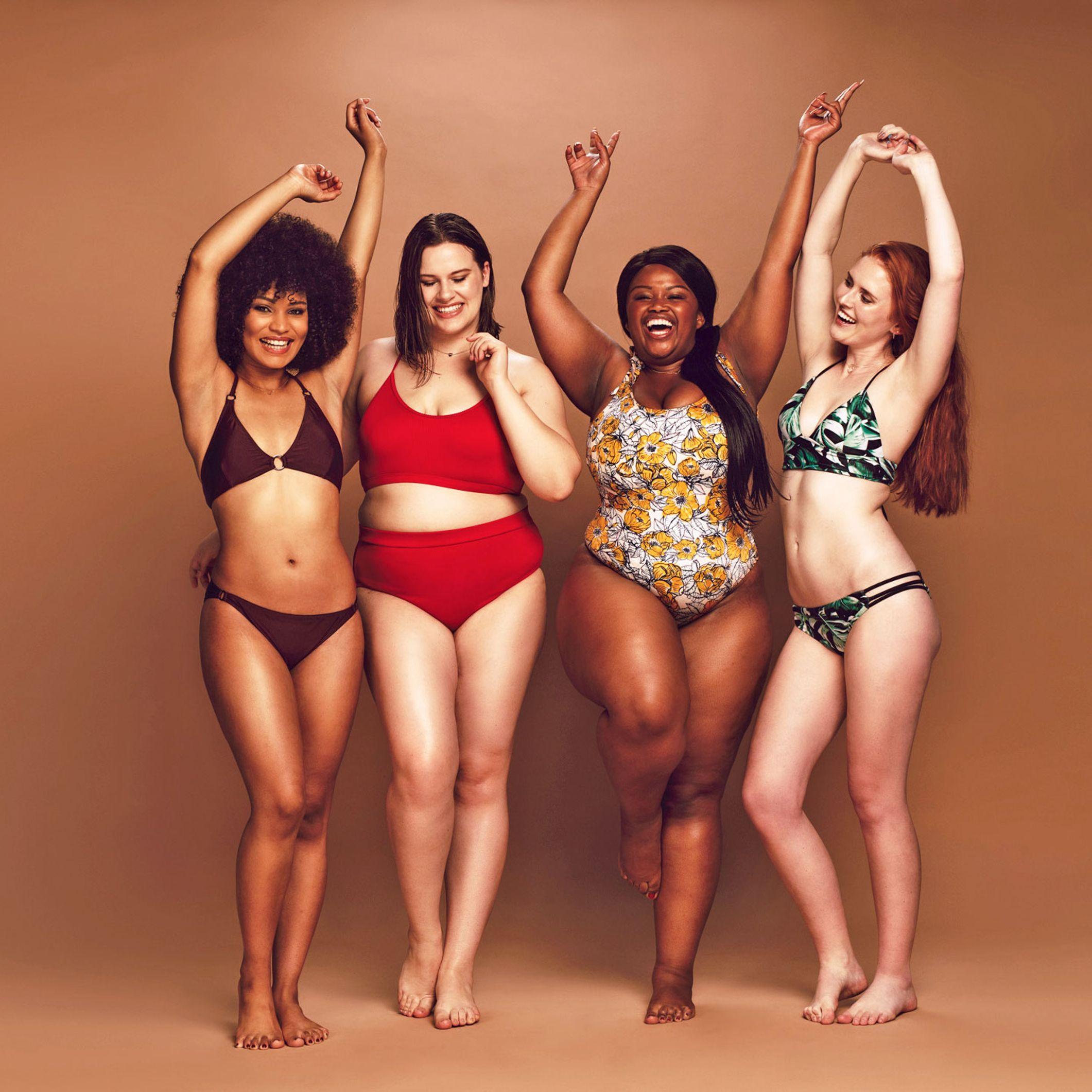Bauch dicken bikinis für Bademode zum