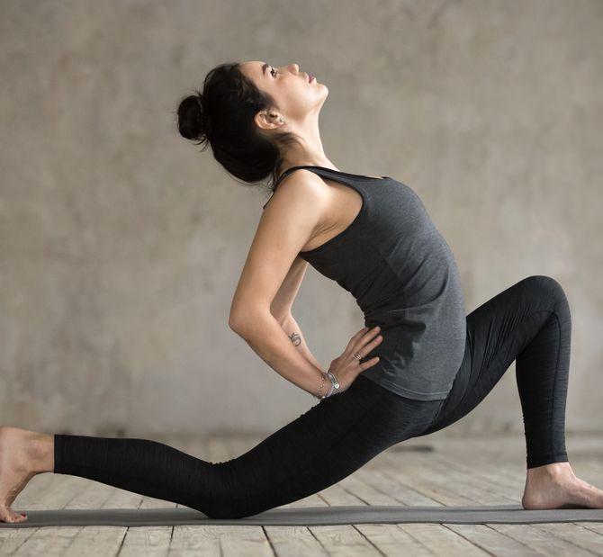 Anjaneyasana ou l'étirement du psoas en yoga