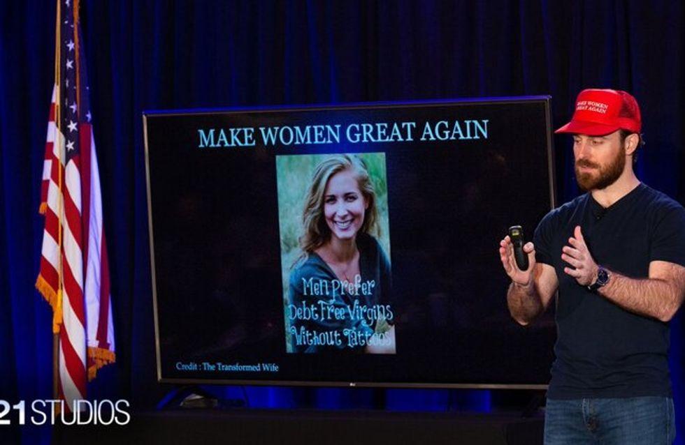 Aux États-Unis, des conférences pour expliquer aux femmes comment retrouver leur grandeur