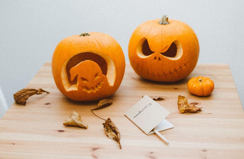 Aprende a preparar una calabaza de Halloween paso a paso