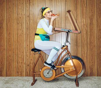 Fahrrad für zu Hause: Fit mit dem Hometrainer