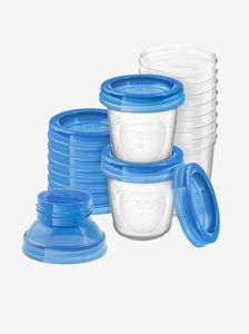 Pots de conservation pour lait maternel - Avent