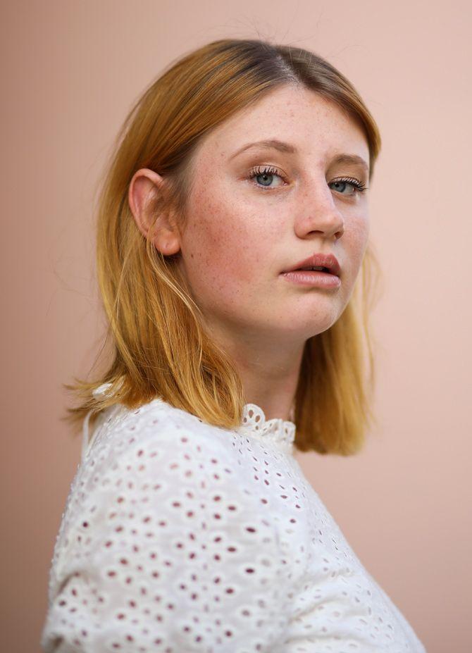 Haarfarben-Trends 2020: Pfirsich- und Kupfertöne