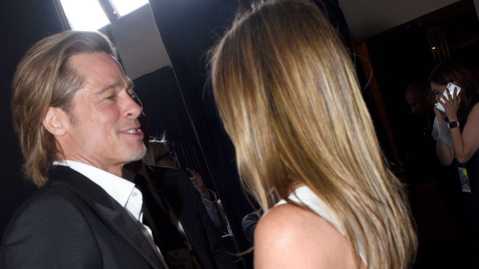 Brad Pitt e Jennifer Aniston: complicità durante i Sag Awards