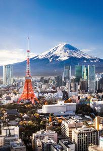 Le Mont Fuji, Japon