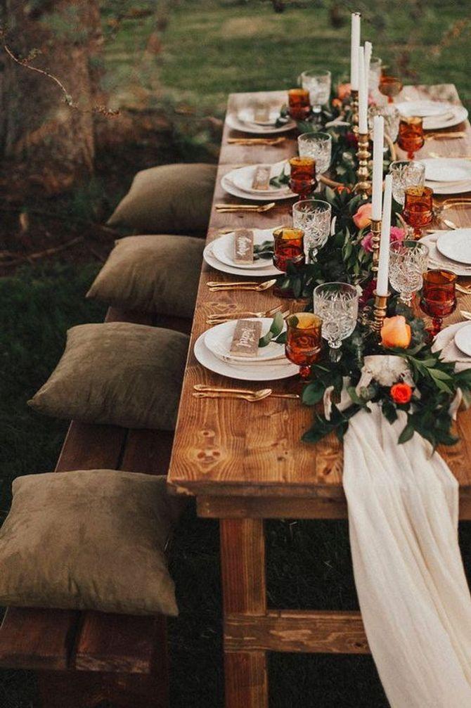 Matrimonio tema natura
