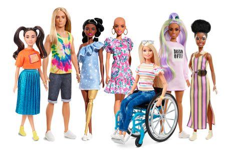 Nuevos modelos de Barbie Fashionistas