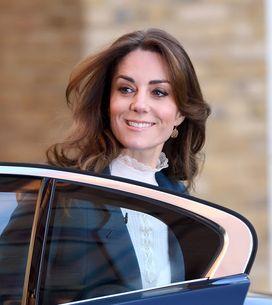 Kate Middleton, ultra chic dans une mini-jupe en tweed